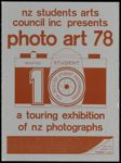 Photo art 78: a touring exhibition of NZ photographers..